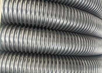 Tubo corrugado flexível para drenagem